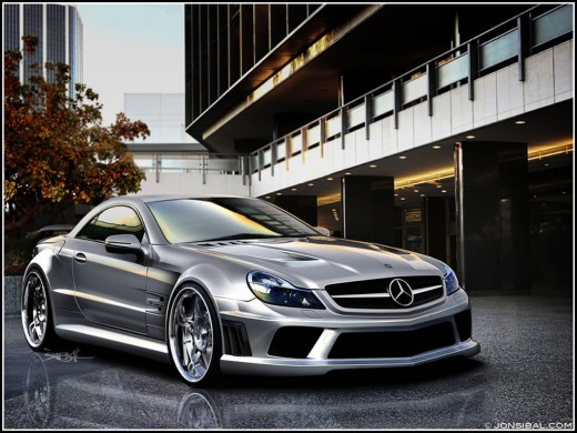 Mercedes SL65-AMG