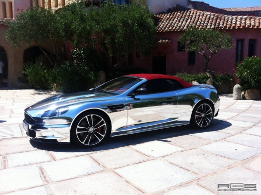 Chrome Aston Martin DBS