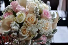 A florist who was starting out in business gave us a great deal on the bouquet.
