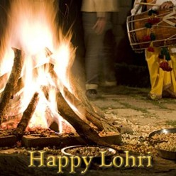 Indian Festival | Lohri Festival | The Bonfire Festival Of Punjab (2016)