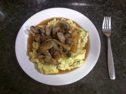 Easy Lamb Recipe: Lamb Shank Stew Over Mashed Potatoes