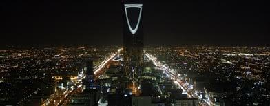 Riyadh By Night.