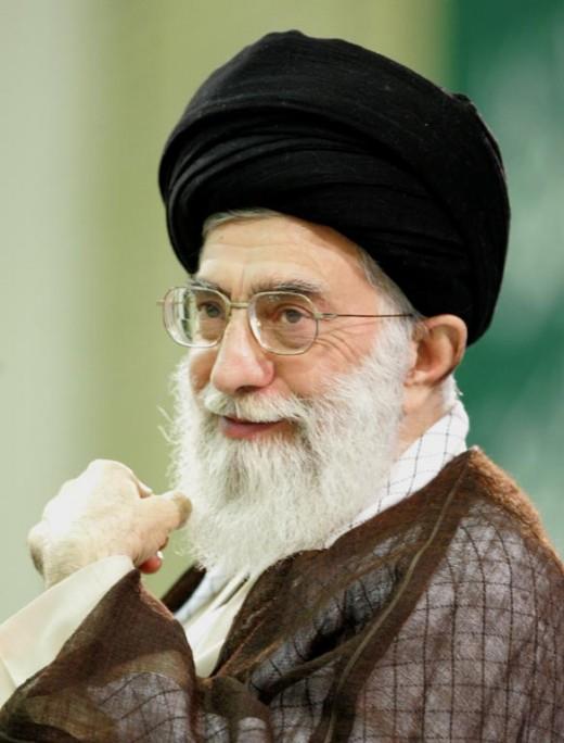 Iran's Supreme Leader:  Ayatollah Ali Khamenei.