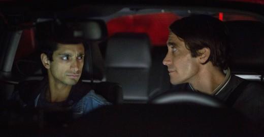 """Ahmed (left) starred opposite of Jake Gyllenhaal (right) in 2014's """"Nightcrawler."""""""