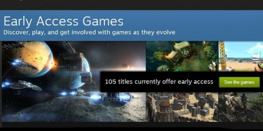 Steam Indie Early Access Games