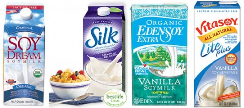There are a bunch of selections of soy milk available on the market today