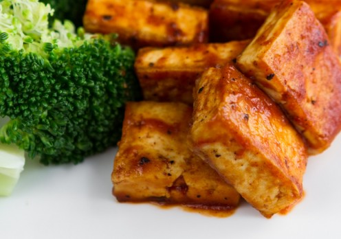 Fried tofu - delicious!
