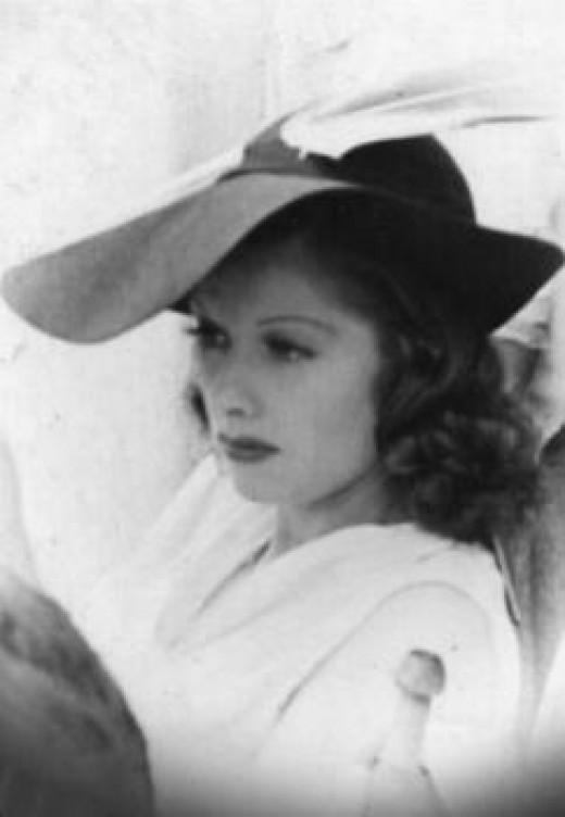 Lucille Ball circa 1930s.