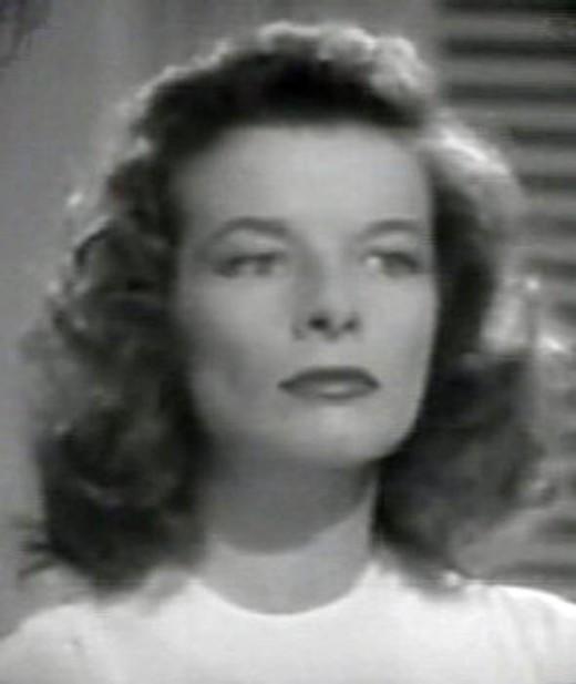 Katharine Hepburn in The Philadelphia Story.