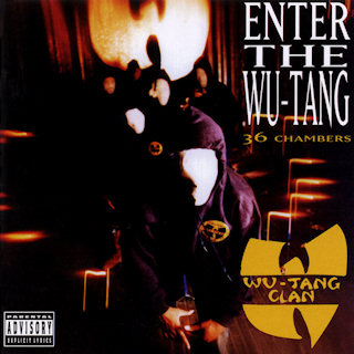 Enter The Wu-Tang (36 Chambers) Album Cover