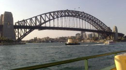 Sydney harbor has been around since the 1930s and is very much a symbol of Sydney, Australia.