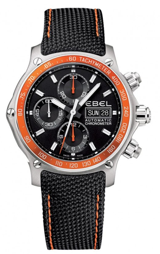 Ebel 1911 Discovery Chronograph Strap