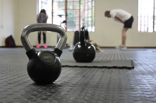 Look for a Crossfit gym that has a variety of weights to suit your fitness level.