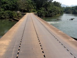 Iron Bridge on way to Karaiyar Dam