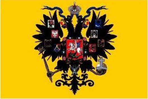 Flag of the old Russian Empire