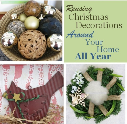 How to Reuse and Repurpose Your Christmas Decoration in Your Everyday Decor