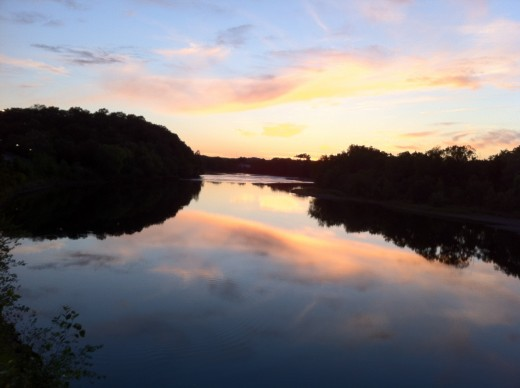 Sunset on the Chippewa River.