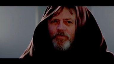 "Mark Hamill as ""Luke Skywalker"""