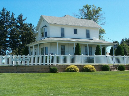 "If you build it ~ Home from ""Field of Dreams"""