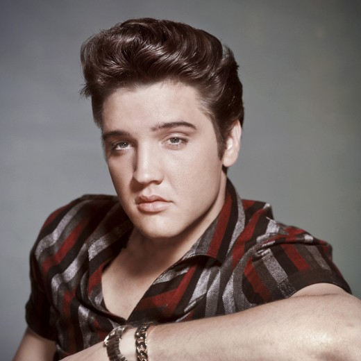 Elvis Presley in an Early Publicity Photo