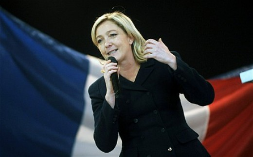 Marine Le Pen Of The Front National.