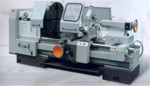 An Engineering machine called lathe machine. This machine is highly used in the field because of its multipurpose function.