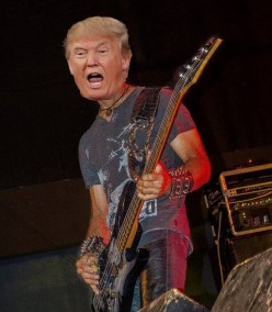 5 Reasons Why Donald Trump Would Suck As Your Bass Player