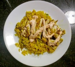 Dieting Delicious: How to Make Easy and Delicious Sweet and Spicy Turmeric Chicken and Rice With Spicy Cream Sauce