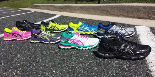 The Asics GEL-Kayano 21 is available in mens and womens styles in a variety of colors