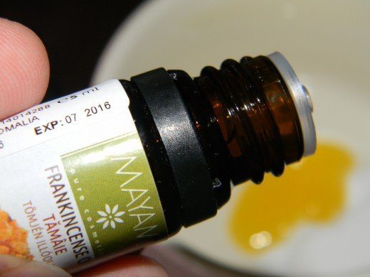 Add your Frankincense essential oil