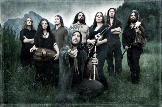Eluveitie - folk metal band from Switzerland
