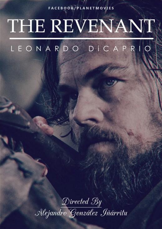 Leonardo DiCaprio in 'The Revenant'.
