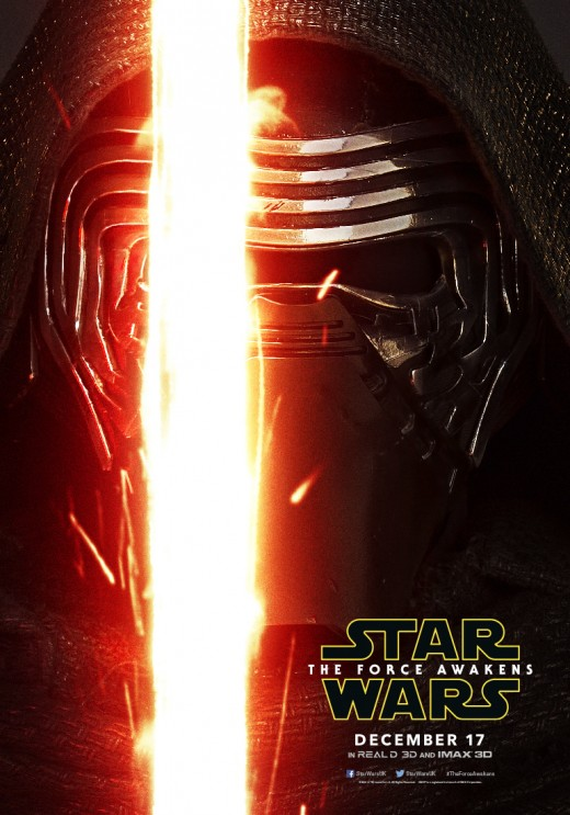 Official Kylo Ren poster