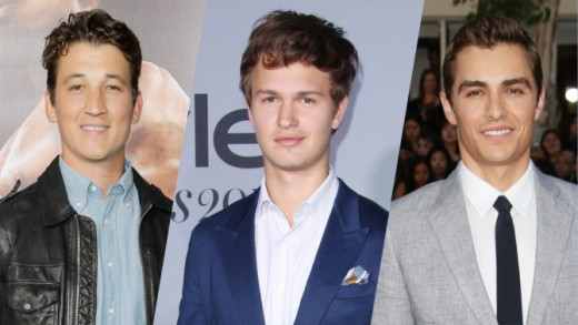 Three of our shortlisted actors, courtesy of Variety online.