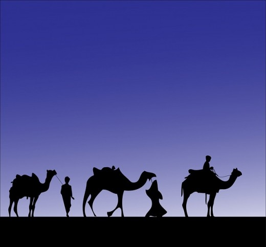 The three wise men.