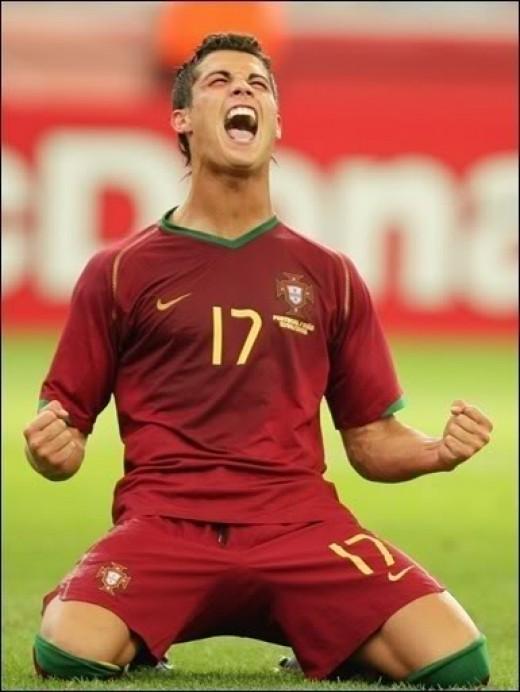 Ronaldo Came Second.
