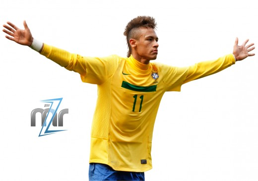 Fellow Barcelona Player Neymar Came Third.