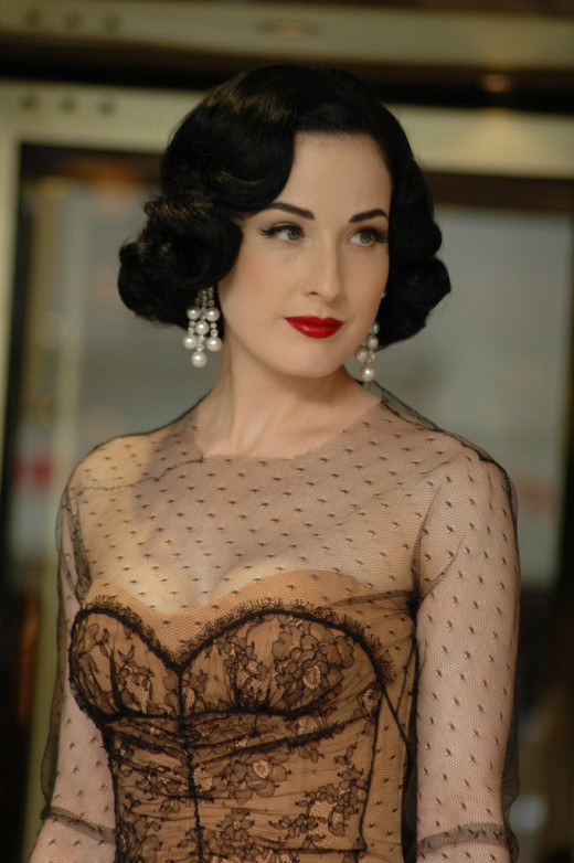 Dita Von Teese Cannes 2007  (originally posted to Flickr as Cannes 2007)