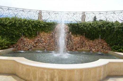 Fountain at Del Dotto