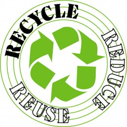 Reduce, Reuse, Recycle!  Simple as that!