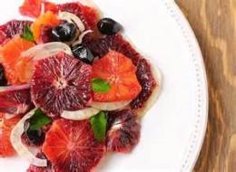 Romaine, fennel, and blood orange salad