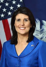 South Carolina Governor Haley (R)