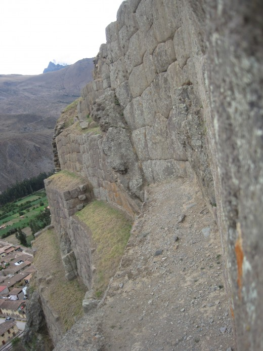 Check out how steep some of these walls are.