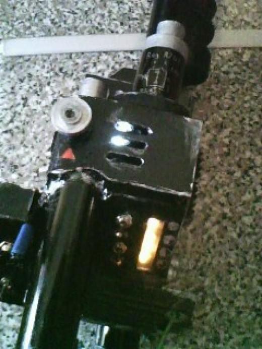 light test for gun box and power indicator
