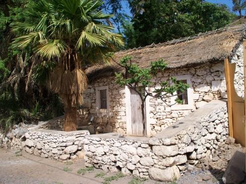 A colonial style house in Cidade Velha, Santiago