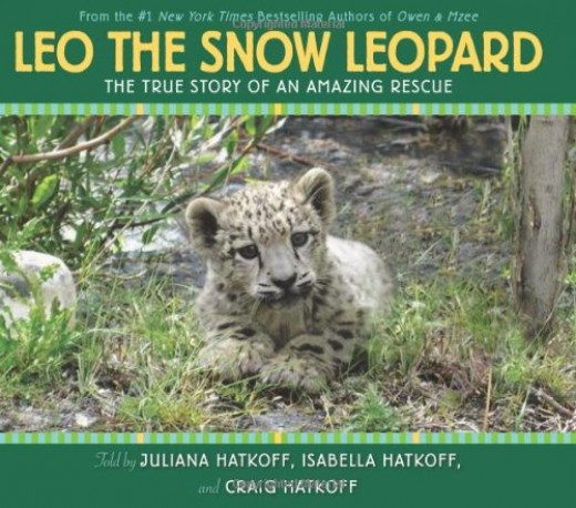 Leo the Snow Leopard  -- Narrative Nonfiction Books for Kids