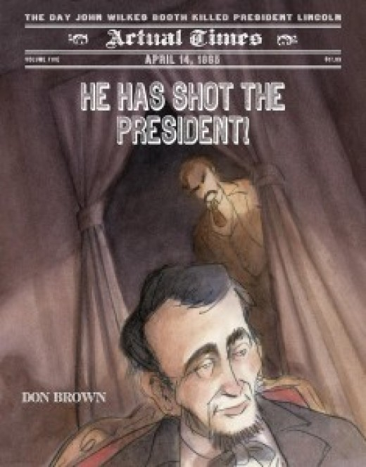 He Has Shot the President -- Narrative Nonfiction Books for Kids