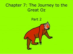 Teach English: The Wonderful Wizard of Oz-Chapter 7 (Part 2)