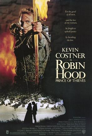 "Poster for ""Robin Hood: Prince Of Thieves"""