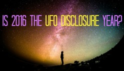 Here's Why 2016 Might Be the UFO Disclosure Year